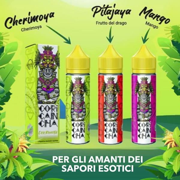 Liquidi Coricancha by AlfaLiquid Mix and Vape