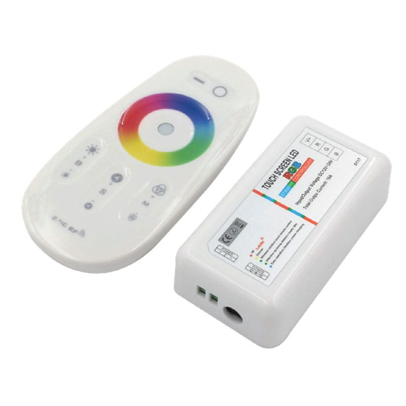 Controller a radiofrequenza 2,4 Ghz per nastri LED RGB