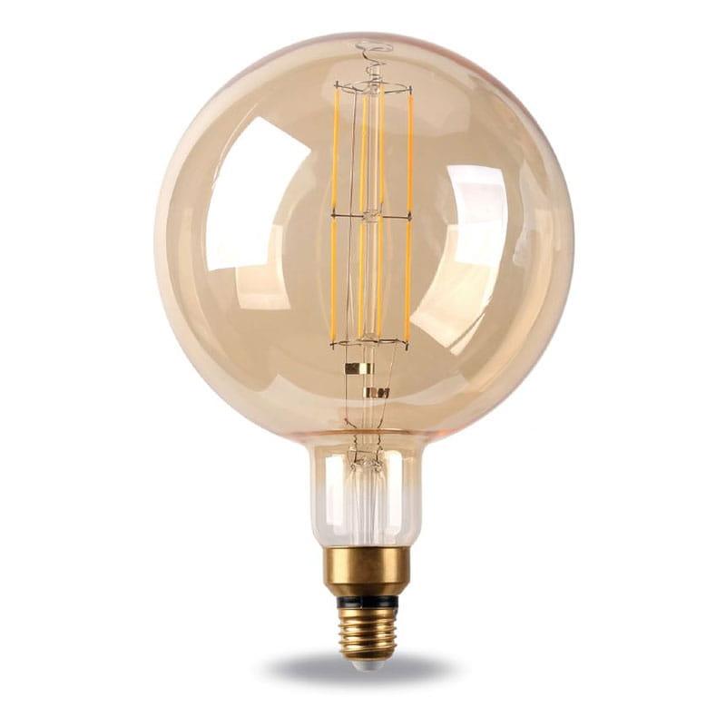 Lampadina LED Filament Gold Vintage Globe 8W Dimmerabile E27