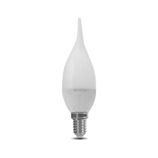 Lampadina LED Classic Wind Twisted 6W Equivalente a 40W E14