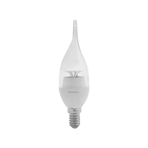 Lampadina LED Crystal Wind Twisted 6W Equivalente a 40W E14