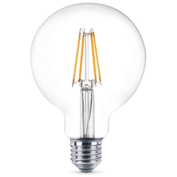 Lampadina LED Filament Globe G125 8W Equivalente a 60W E27