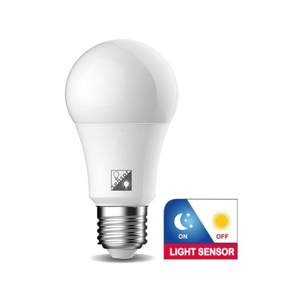 Lampadina LED E27 con Sensore Crepuscolare 11W Equivalente a 75W