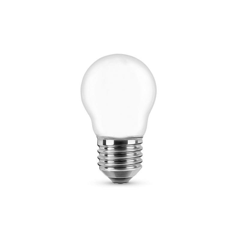 Lampadina LED Filament Opal Miniglobe 4W E27