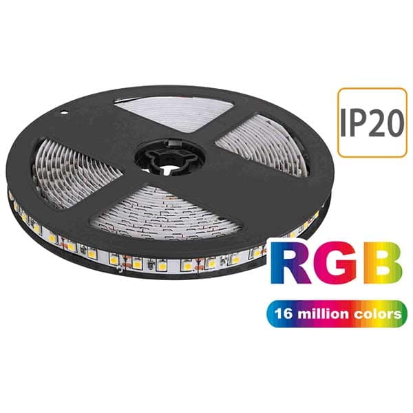 Striscia LED 24V, RGB, IP20 5 Metri, 14 W/m SMD5050