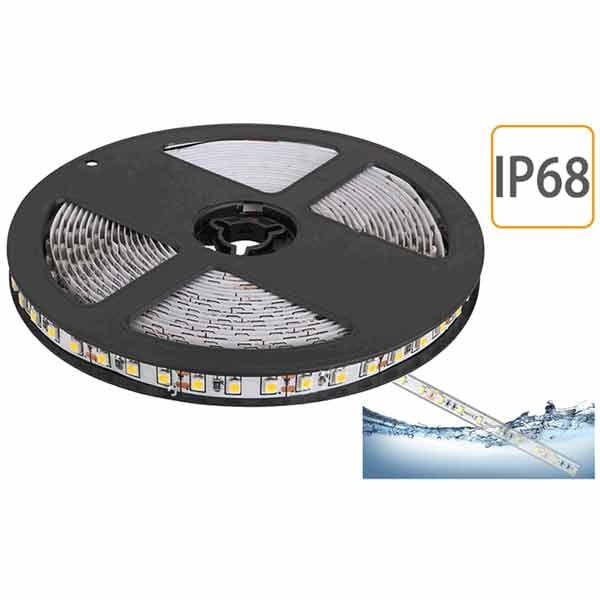 Striscia LED 24V IP68 12W/m