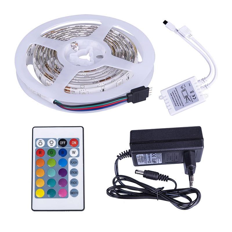 KIT Nastro LED RGB 12W IP64
