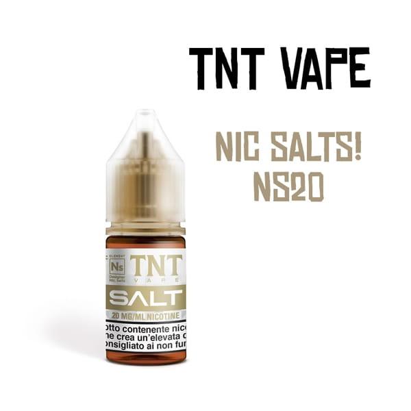 TNT Vape Base Neutra con Sali di Nicotina NS20