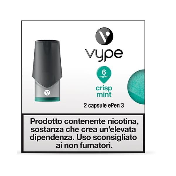 Crisp Mint - Vype ePen 3 - Capsule 2pz
