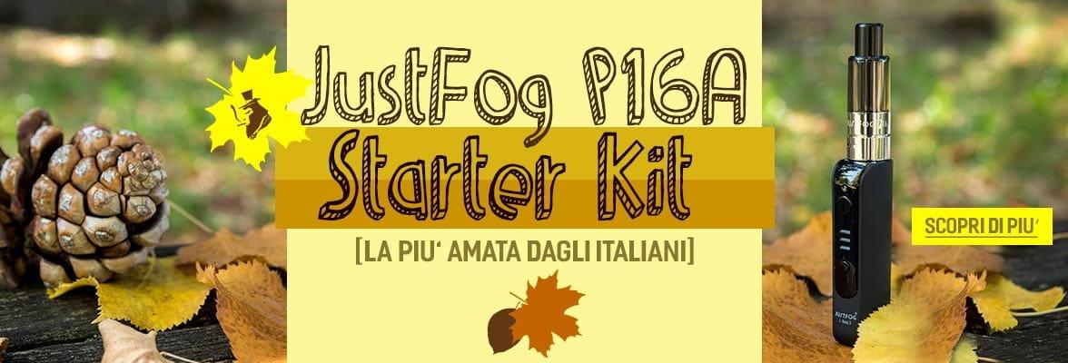 Justfog P16A Starter kit - sigaretta elettronica