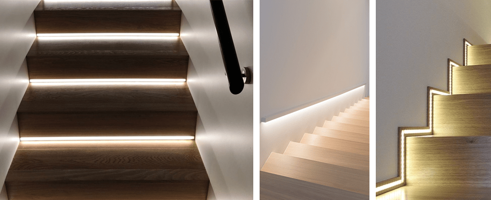Come illuminare con le strip LED