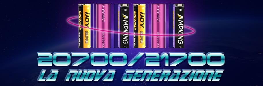 Le Nuove Batterie 20700 21700