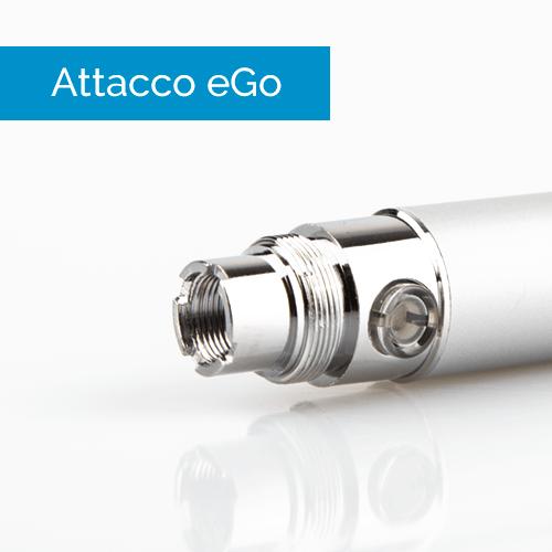 Attacco eGo sigaretta elettronica - Infografica
