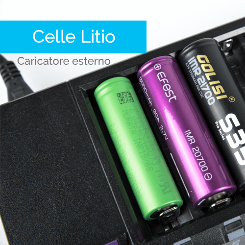 Carica delle batterie al lito - Infografica