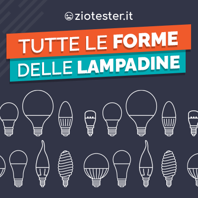 Forme lampadine led: una guida per riconoscerle