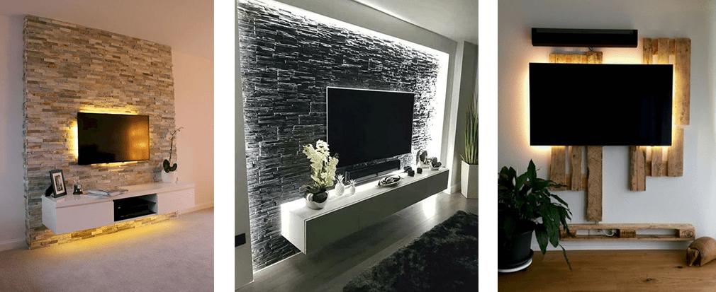 Come illuminare la zona tv