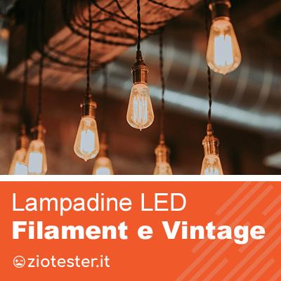 Lampadine Vintage, illumina i tuoi spazi con stile