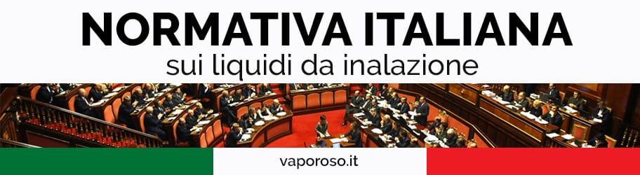 Normativa italiana sui liquidi da inalazione
