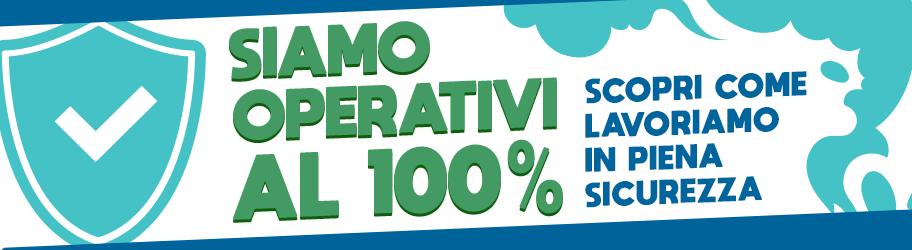 Vaporoso operativo al 100%