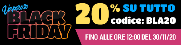 Black Friday 20% su tutto il catalogo!