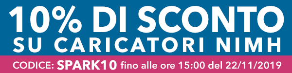 10% di Sconto su Caricatori NIMH, su Vaporoso.it