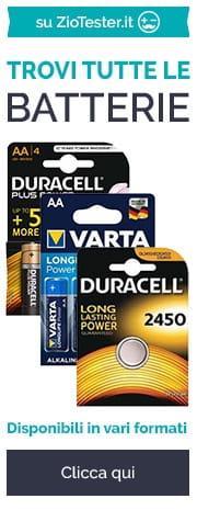 Batterie su ziotester