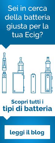 Tipi di batterie per sigaretta elettronica