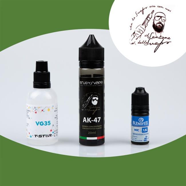 ak47 by santone dello svapo liquido sigaretta elettronica