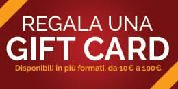 Acquista Gift Card per i tuoi regali
